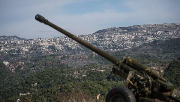 Сирийская армия в провинции Идлиб, архивное фото - Sputnik Грузия
