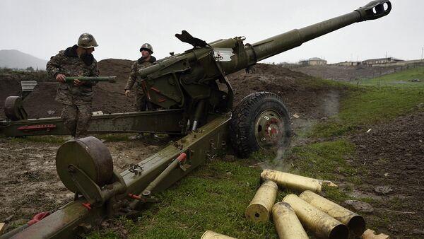 Ситуация в зоне карабахского конфликта - Sputnik Грузия