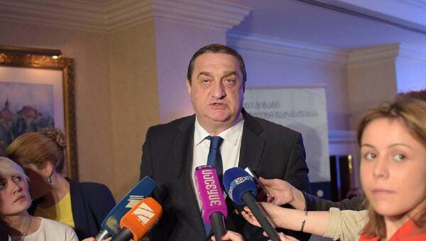 Глава Партнерского фонда Грузии Давид Саганелидзе - Sputnik Грузия