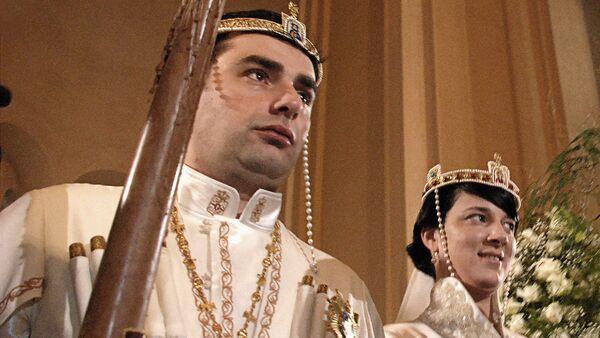 ქართული სამეფო დინასტიის მემკვიდრეების ქორწილი - Sputnik საქართველო