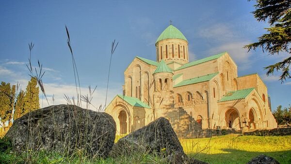 Кафедральный собор Баграти в Кутаиси - Sputnik Грузия