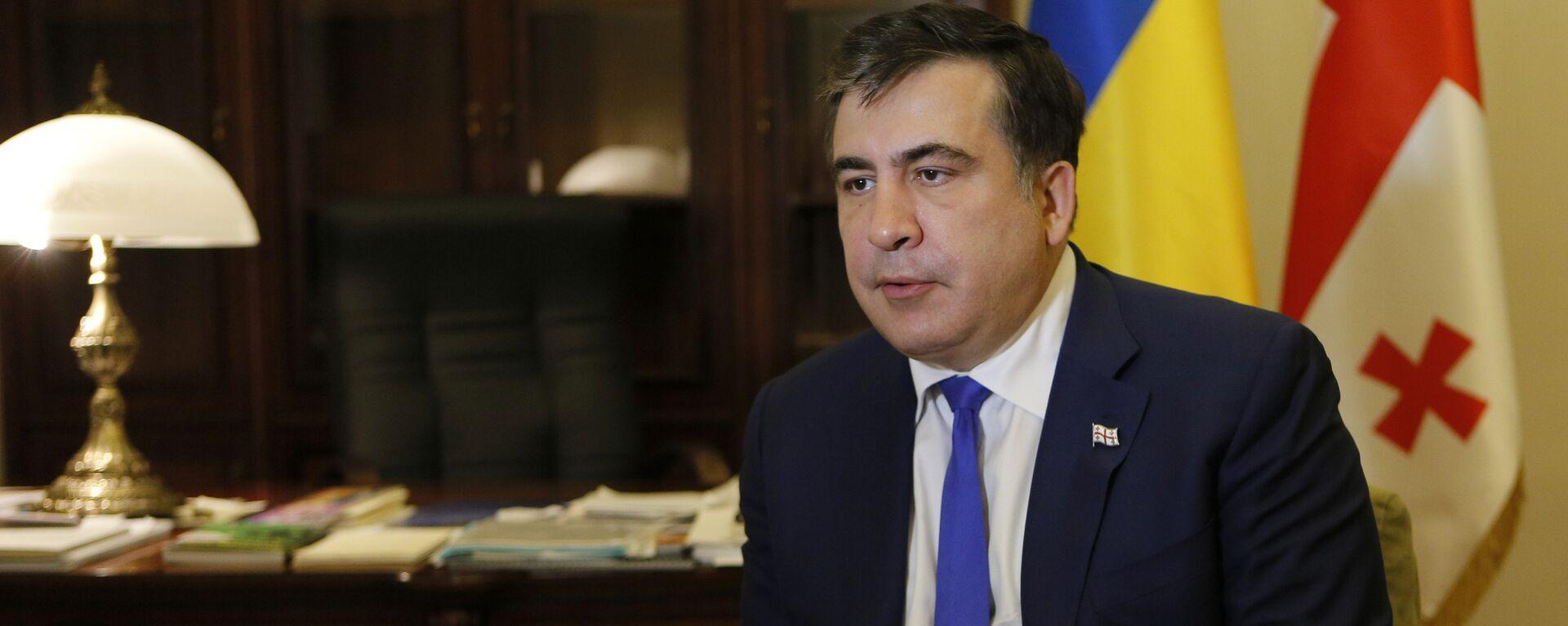 Михаил Саакашвили - Sputnik Грузия, 1920, 12.10.2021