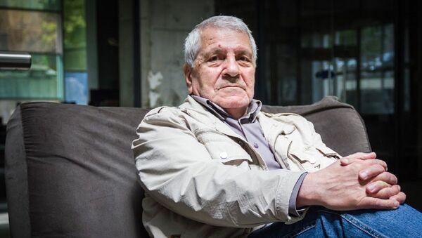 Председатель Союза чернобыльцев Грузии Важа Чадунели - Sputnik Грузия