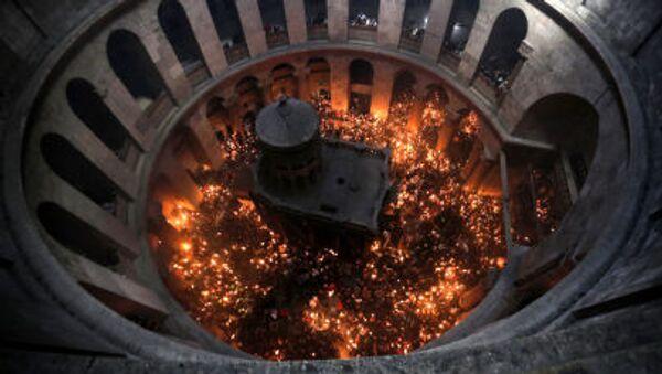 ღვთაებრივი ცეცხლის გარდამოსვლა - Sputnik საქართველო