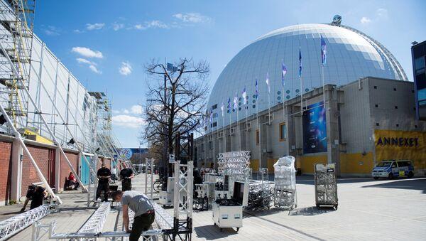 ევროვიზია  2016 - მზადება კონკურსისთვის. Globe Arena სტოკჰოლმში - Sputnik საქართველო