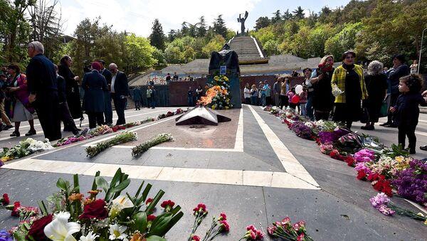 Празднование Дня Победы над фашизмом, парк Ваке 9 мая - Sputnik Грузия