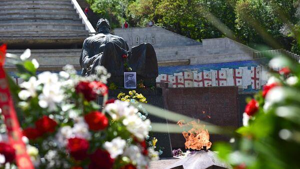 Могила Неизвестного солдата в парке Ваке - Sputnik Грузия