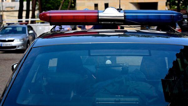 Полицейская машина - Sputnik Грузия
