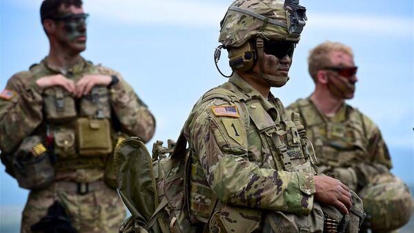 Американские военные на учениях Достойный партнер в Грузии - Sputnik Грузия