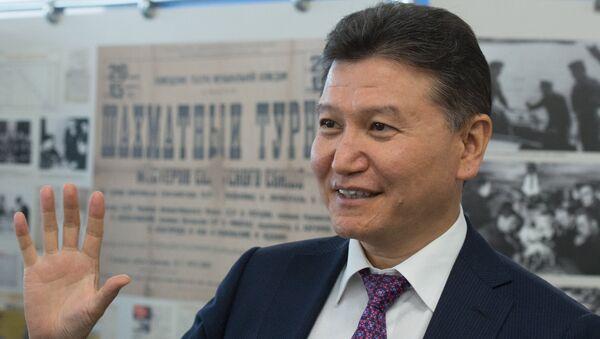 Глава ФИДЕ Кирсан Илюмжинов - Sputnik Грузия