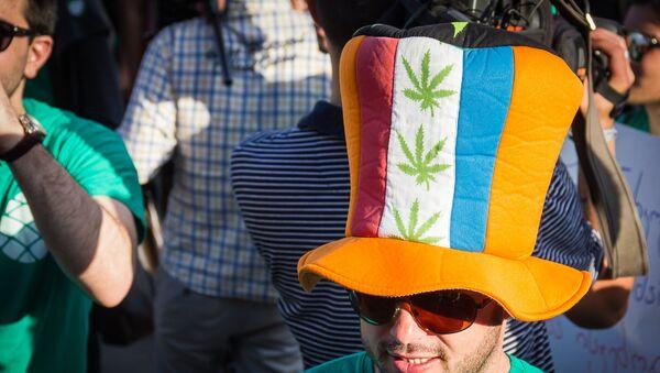 Акция за легализацию марихуаны - Sputnik Грузия