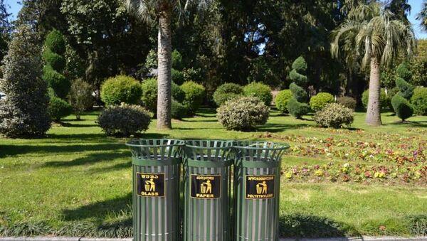 Баки для сортировки мусора - Sputnik Грузия