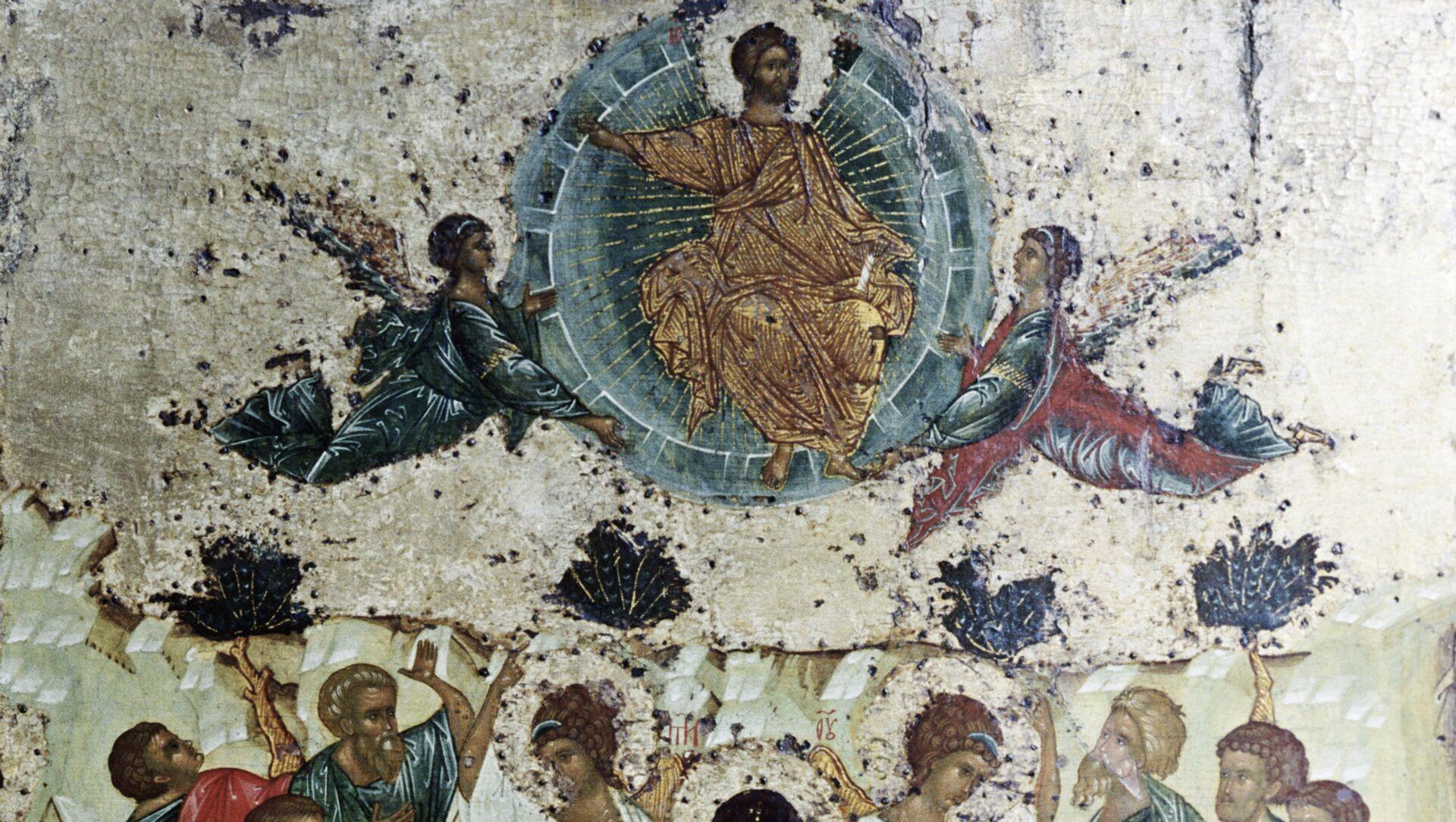 Икона Вознесение Господне - Sputnik Грузия, 1920, 09.06.2021
