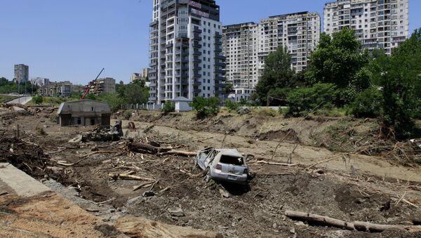 Наводнение в грузинской столице, 13 июня 2015 года - Sputnik Грузия