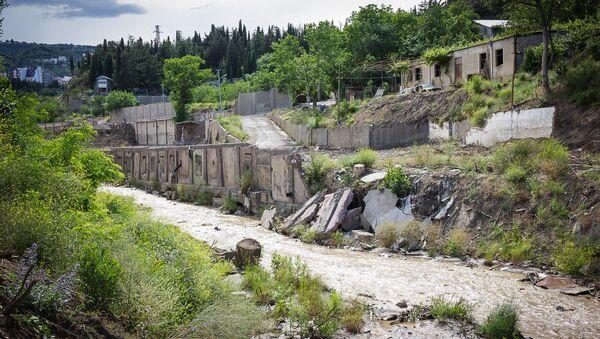 Наводнение в грузинской столице - улица Сванидзе - Sputnik Грузия