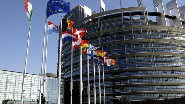 Здание Европарламента - Sputnik Грузия