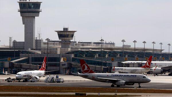 Международный аэропорт Ататюрка в Стамбуле - Sputnik Грузия