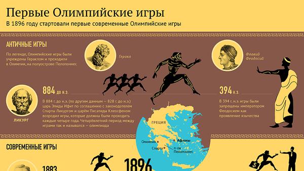 Первые Олимпийские игры - Sputnik Грузия