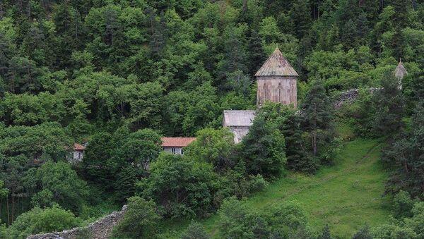Монастырь Сапара вблизи Ахалцихе - Sputnik Грузия
