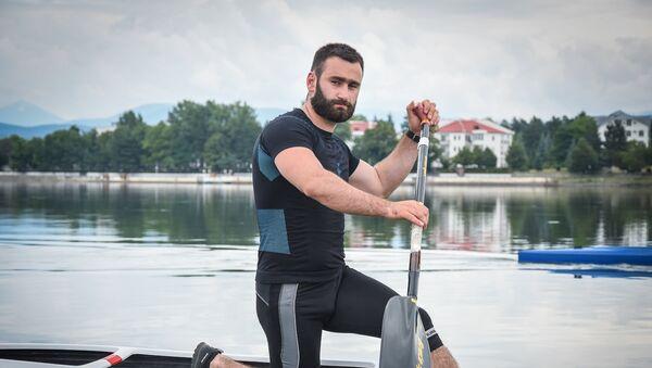 Заза Надирадзе, гребля на каноэ - Sputnik Грузия