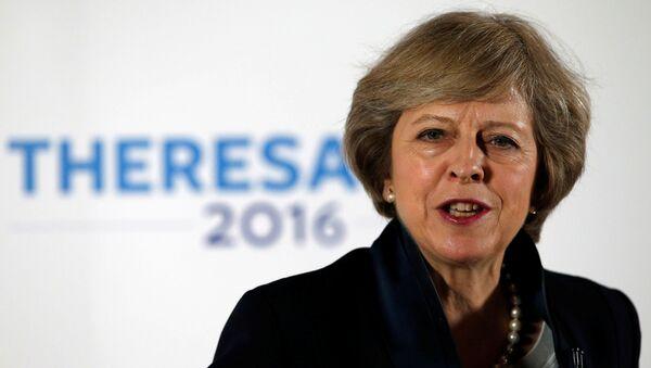 დიდი ბრიტანეთის პრემიერ–მინისტრი ტერეზა მეი - Sputnik საქართველო