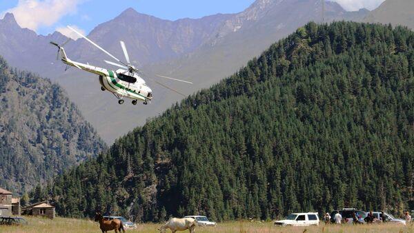 Вертолет спасательной службы МВД Грузии - Sputnik Грузия