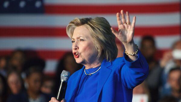 Кандидат в президенты США Хиллари Клинтон - Sputnik Грузия