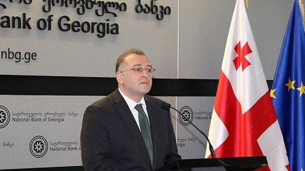 Президент Нацбанка Грузии Коба Гвенетадзе - Sputnik Грузия