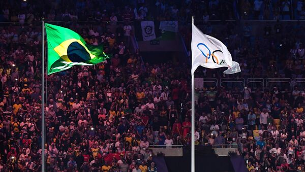 Церемония открытия XXXI летних Олимпийских игр в Рио-де-Жанейро - Sputnik Грузия