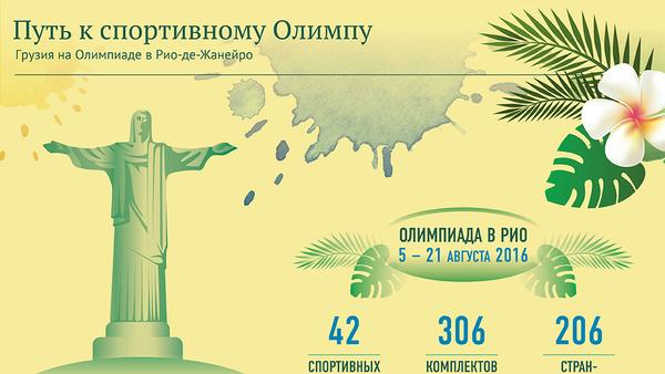 Путь к спортивному Олимпу - Sputnik Грузия