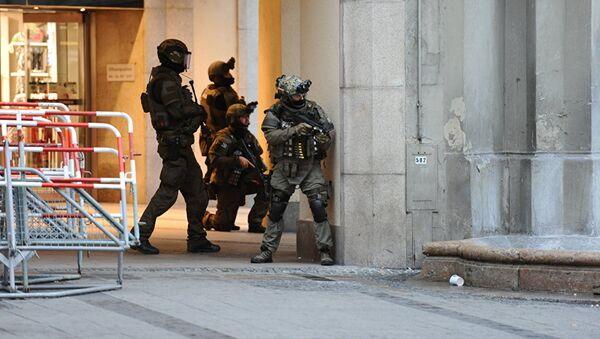Полицейская спецоперация в Мюнхене 22 июля 2016 - Sputnik Грузия