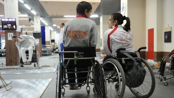 Российские паралимпийцы. Архивное фото - Sputnik Грузия