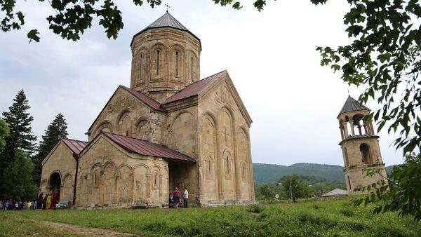 Храм Никорцминда - Sputnik Грузия