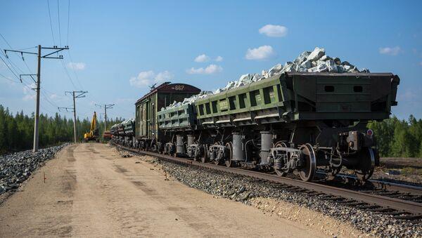 Строительство железной дороги - Sputnik Грузия