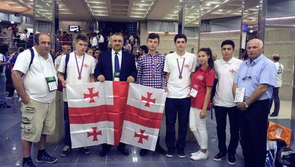 Призеры Международной олимпиады по информатике - Sputnik Грузия