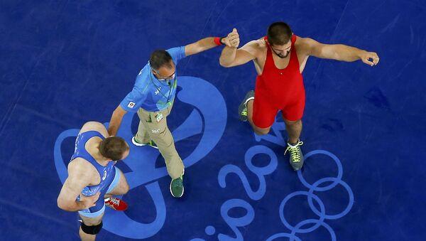 Гено Петриашвили завоевал бронзовую медаль на Играх в Рио - Sputnik Грузия