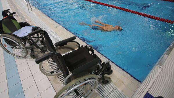 Тренировка паралимпийской сборной по плаванию - Sputnik Грузия