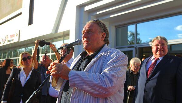 Открытие Культурного центра Жерара Депардье в Саранске - Sputnik Грузия
