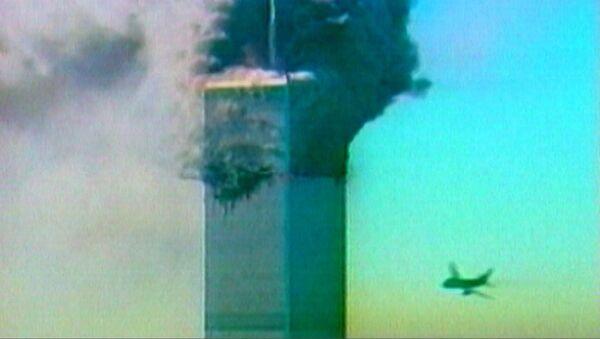 Террористический акт в Нью-Йорке 11 сентября 2001 года. Кадры из архива - Sputnik Грузия