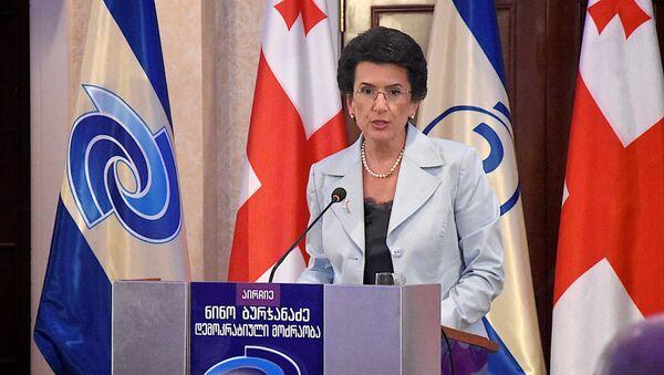 Нино Бурджанадзе - Sputnik Грузия