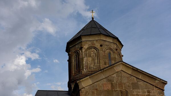 Купол Гергетской церкви Святой Троицы - Sputnik Грузия
