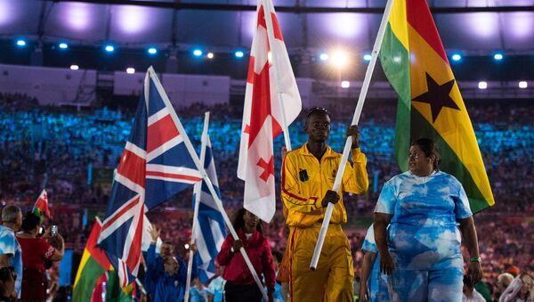 Церемония закрытия Паралимпийских игр в Рио-де-Жанейро - Sputnik Грузия