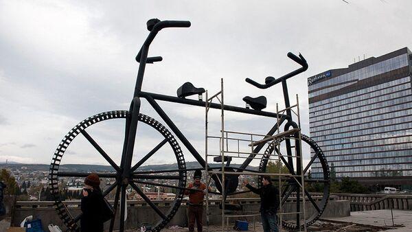 ველოსიპედის ძეგლი - Sputnik საქართველო