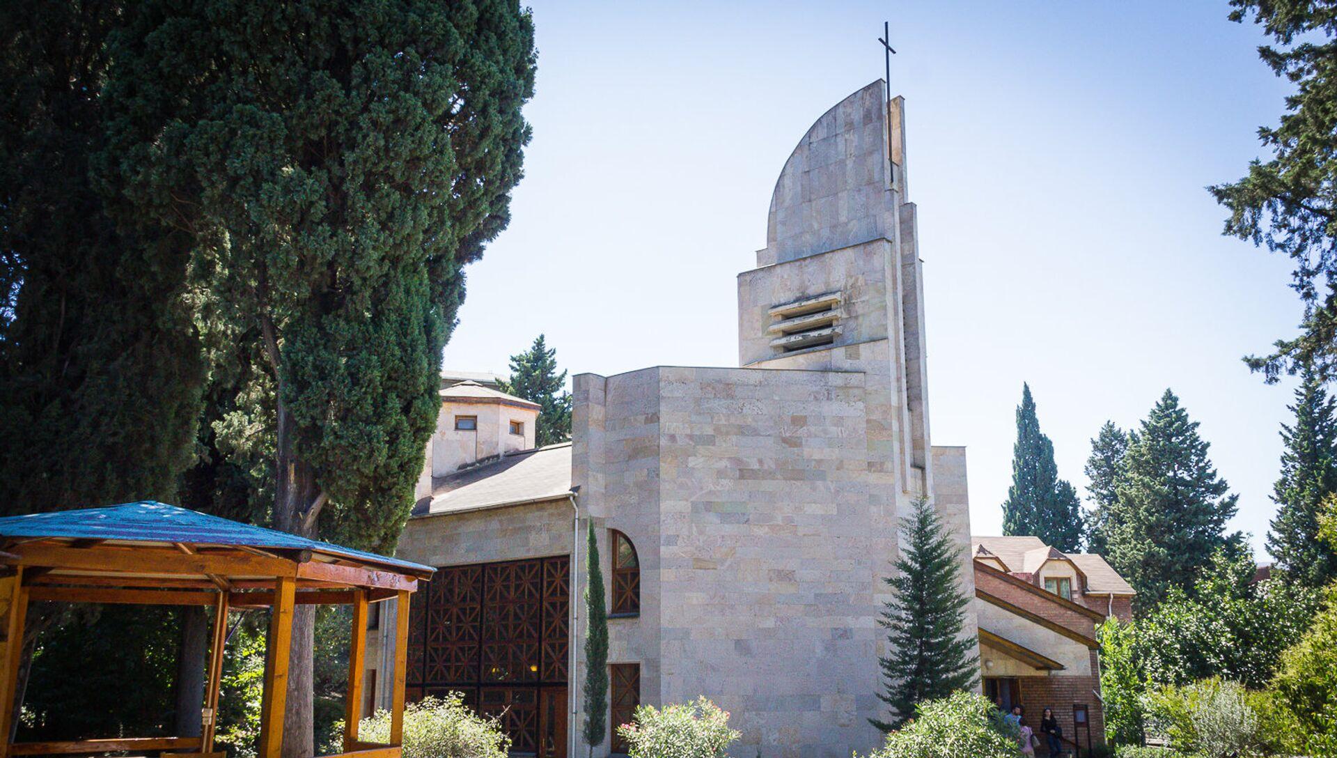 Лютеранская церковь в Тбилиси - Sputnik Грузия, 1920, 04.04.2021