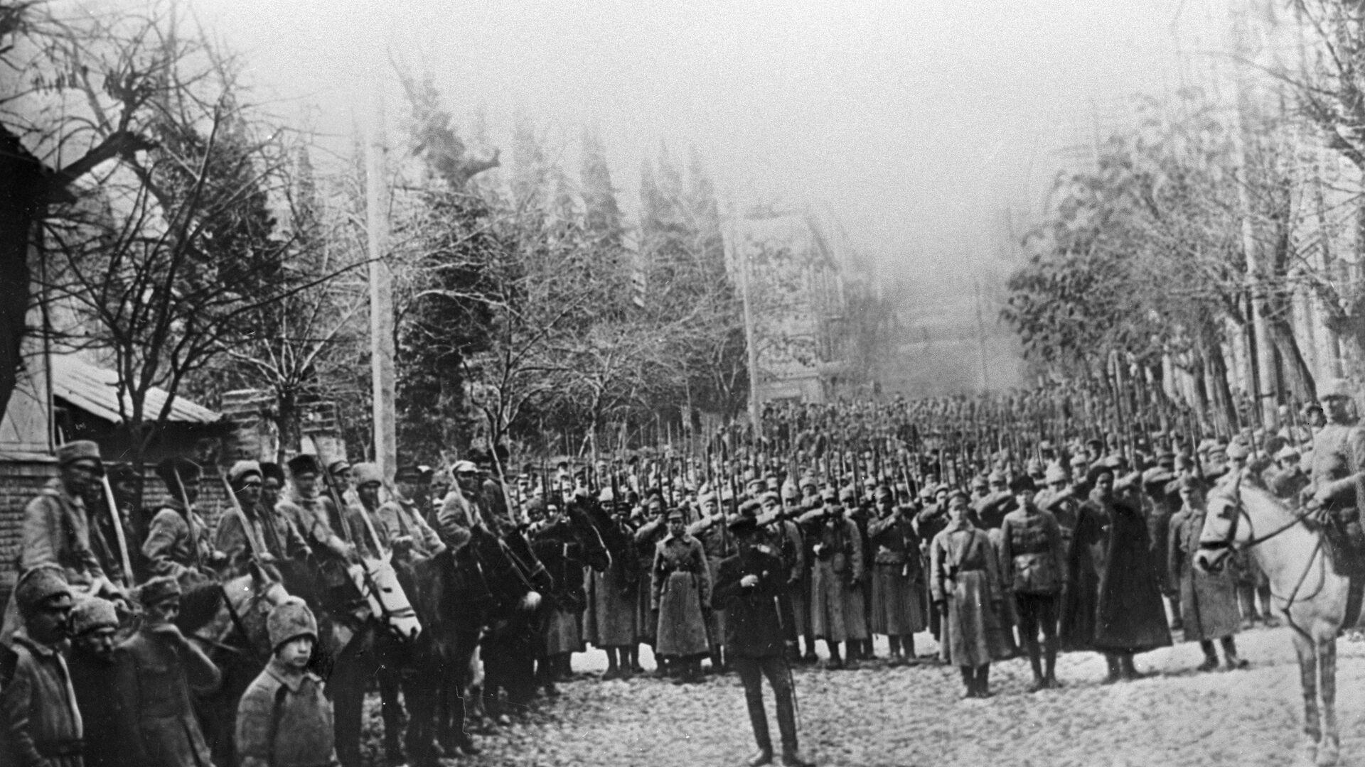 წითელი არმია ტფილისში - 1921 წელი - Sputnik საქართველო, 1920, 10.10.2021