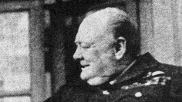 Бывший премьер-министр Великобритании Уинстон Черчилль - Sputnik Грузия