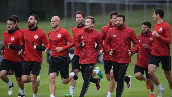Тренировка сборной Грузии по футболу в Дублине - Sputnik Грузия