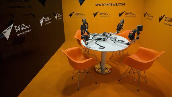 Студия международного информационного агентства и радио Sputnik. - Sputnik Грузия
