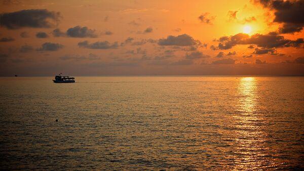 Черное море на закате - побережье Аджарии - Sputnik Грузия