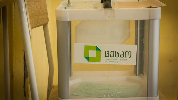 Парламентские выборы в Грузии, избирательная урна - Sputnik Грузия